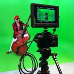 virtual studio green screen
